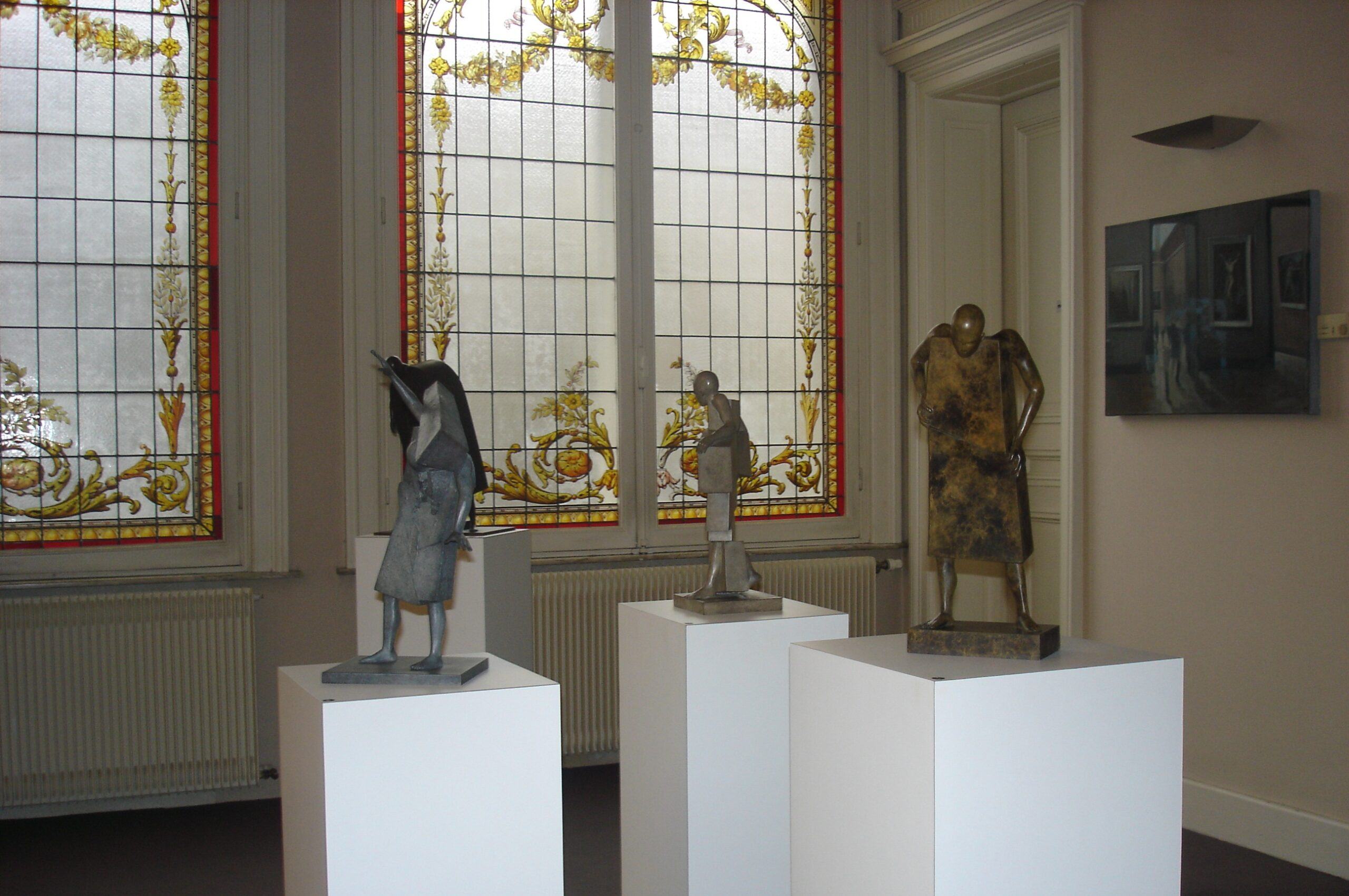 Corby - sculpture - Décalage - © Casart