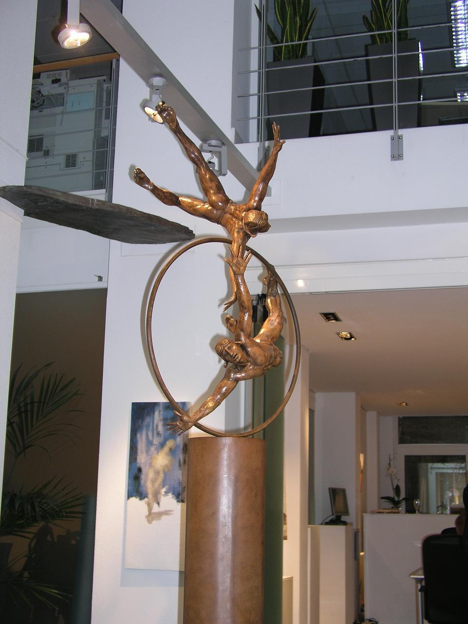Jorge Marin - sculpture - Vuelo - © Casart