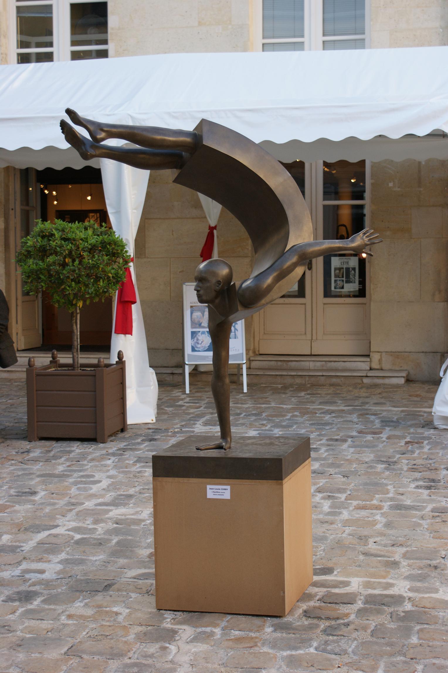 Corby - sculpture - Balance I - © Casart