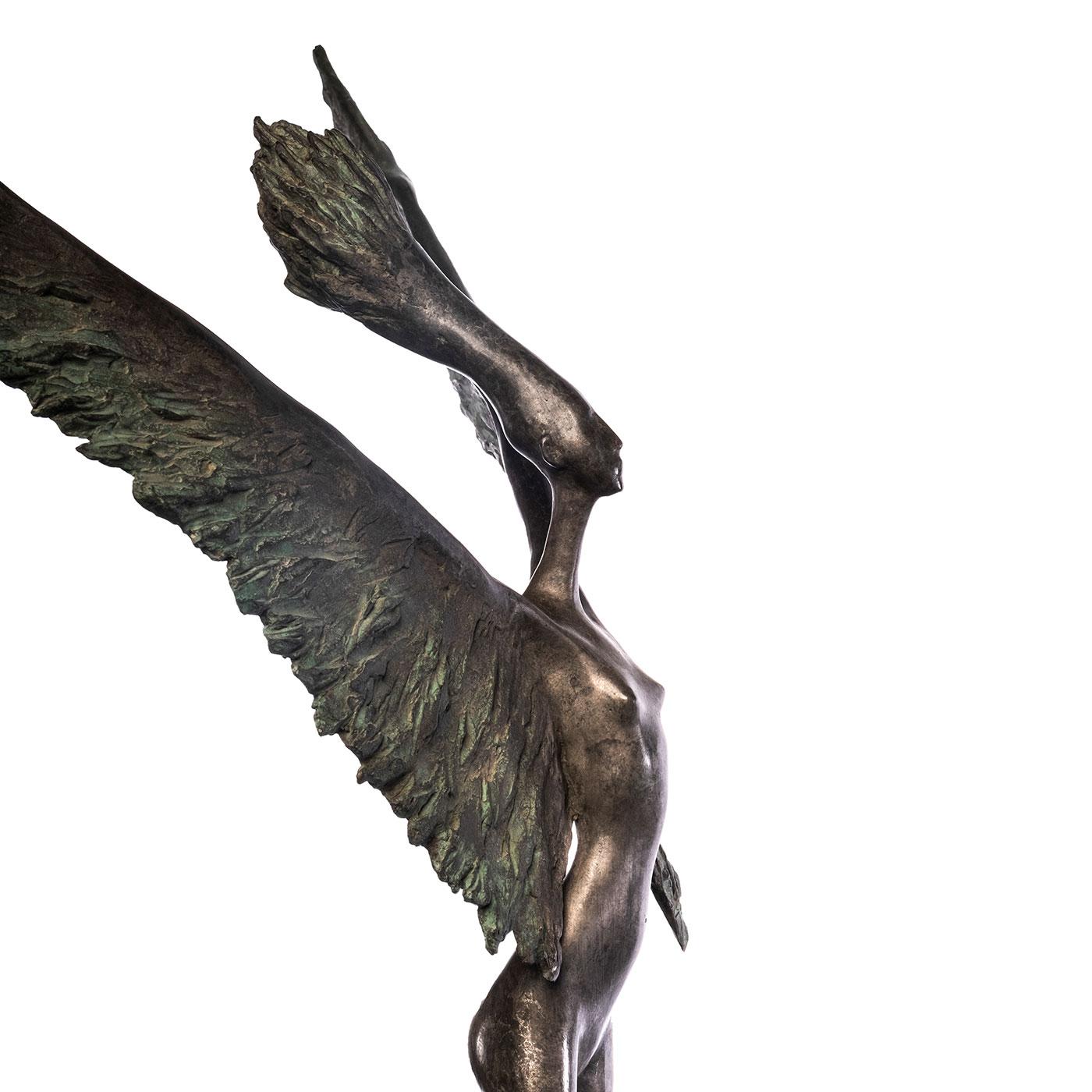 A tire d'elle (zoom), Leroux, sculpteur, Casart