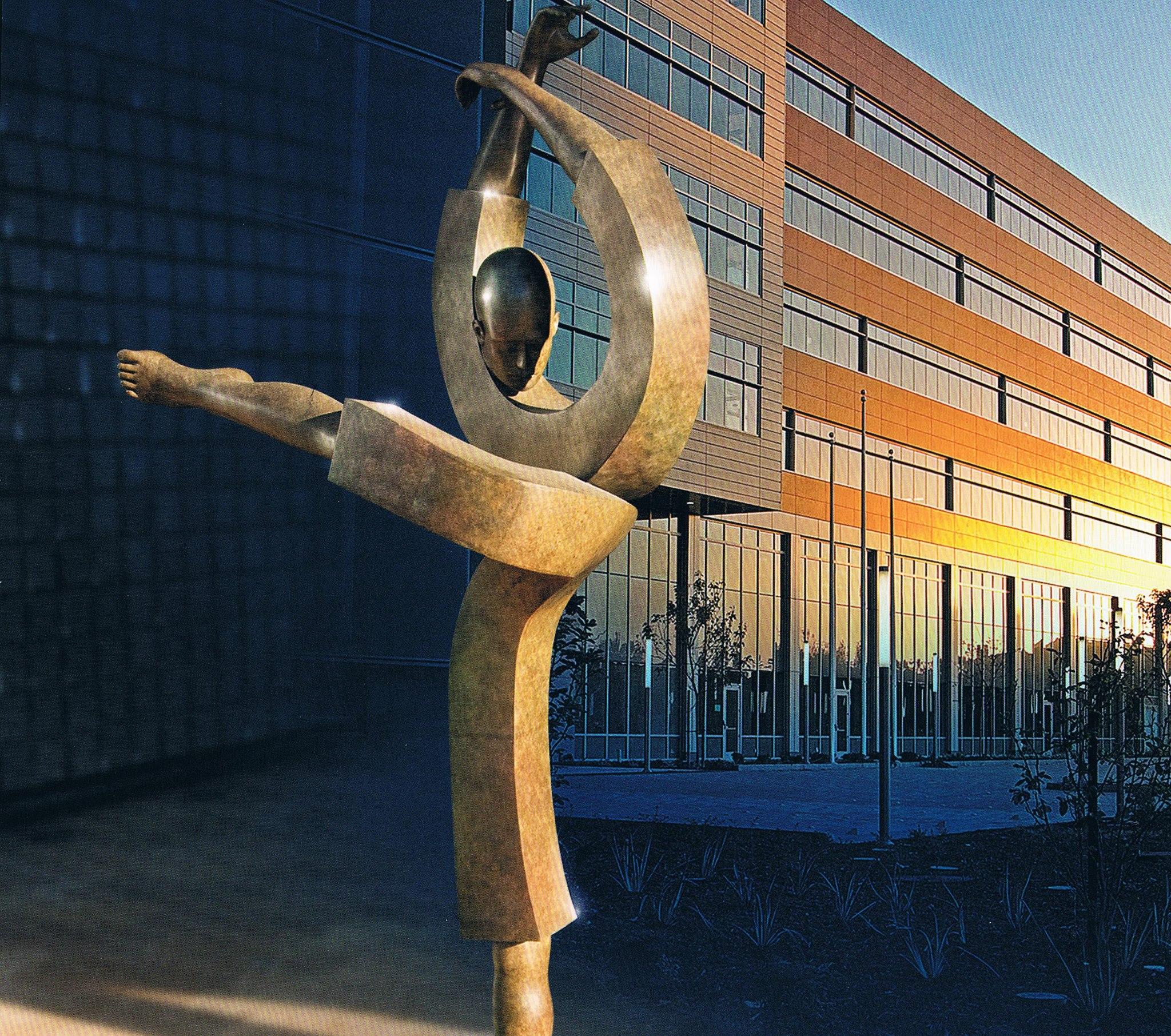 Corby - sculpture - Dancer - © Casart