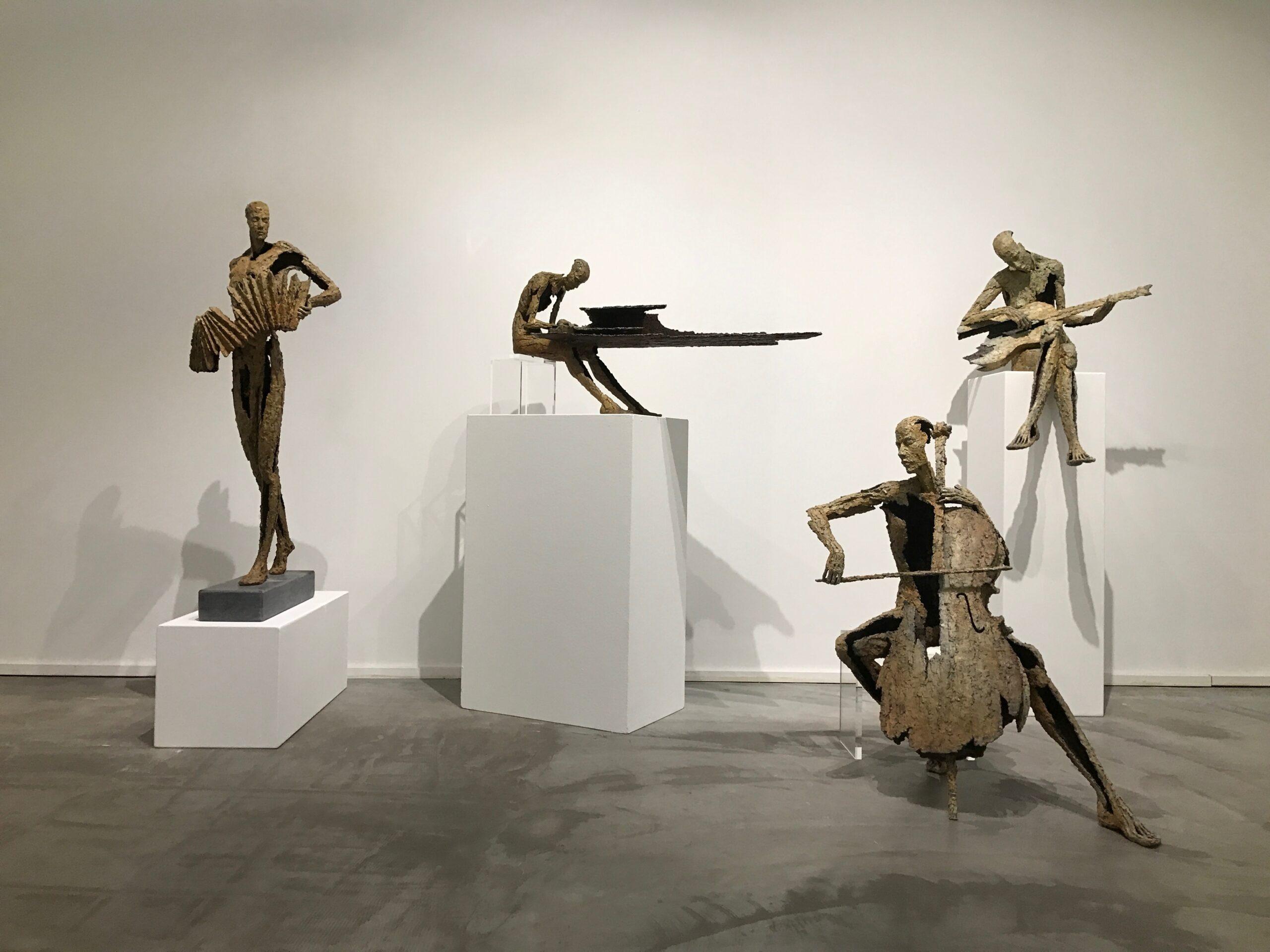 Van den Abeele - sculpture - Accordeon - © Casart