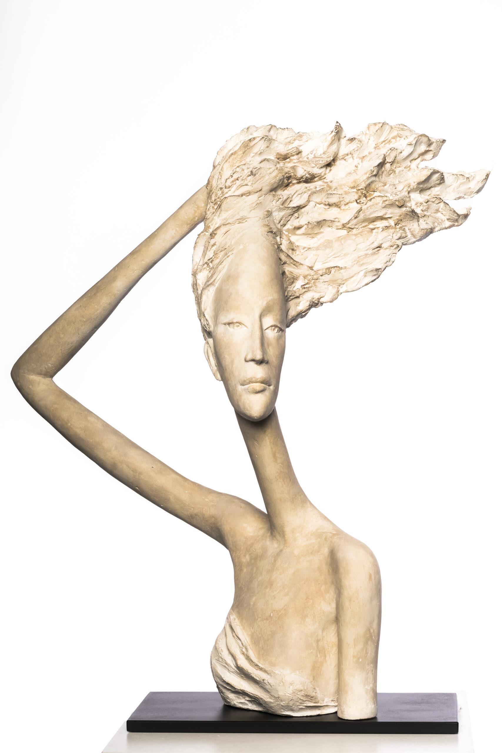 Hedwige Leroux - sculpture - Coup de Vent - © Casart