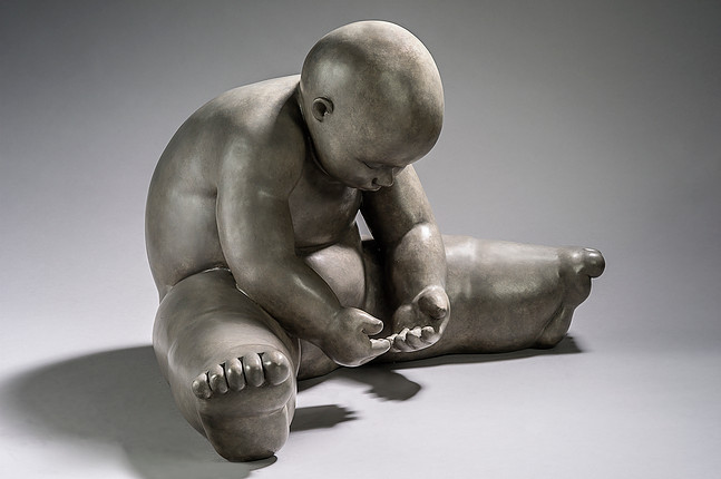 Garibay - sculpture - Entre mes mains - © Casart