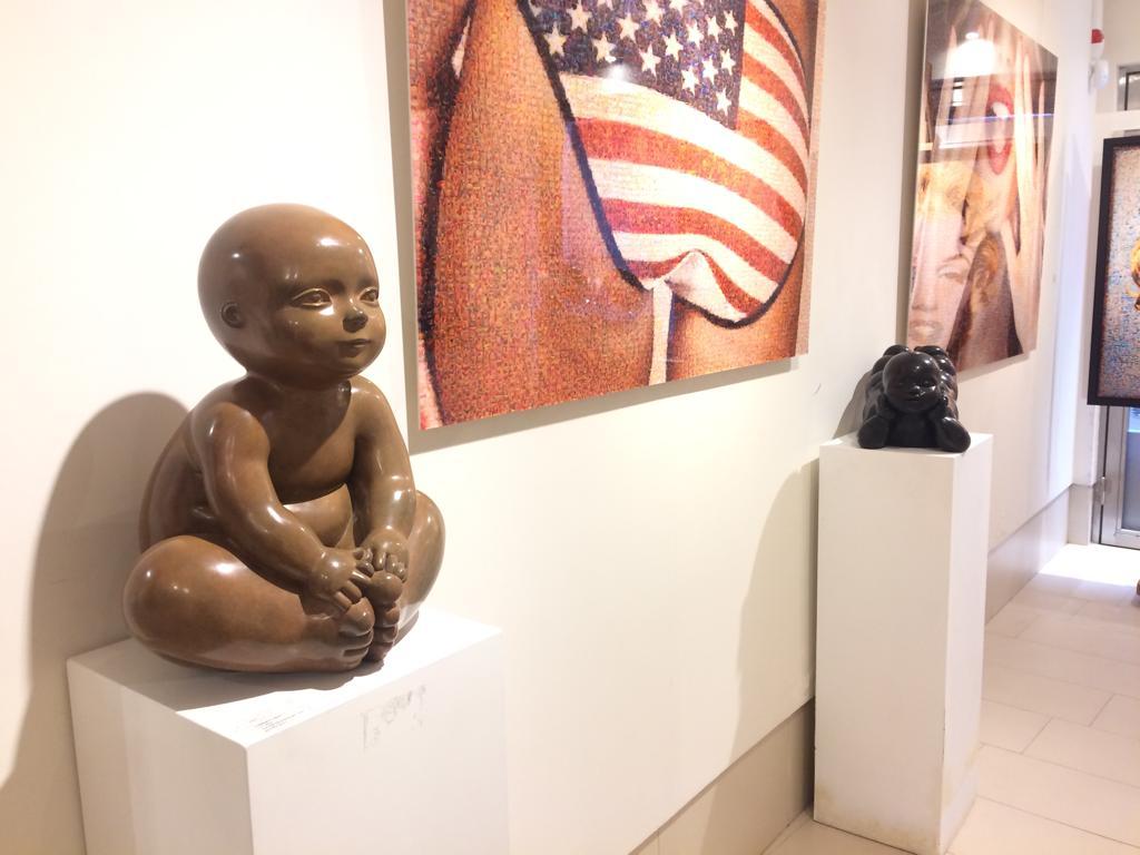 Garibay - sculpture - Eveillé - © Casart