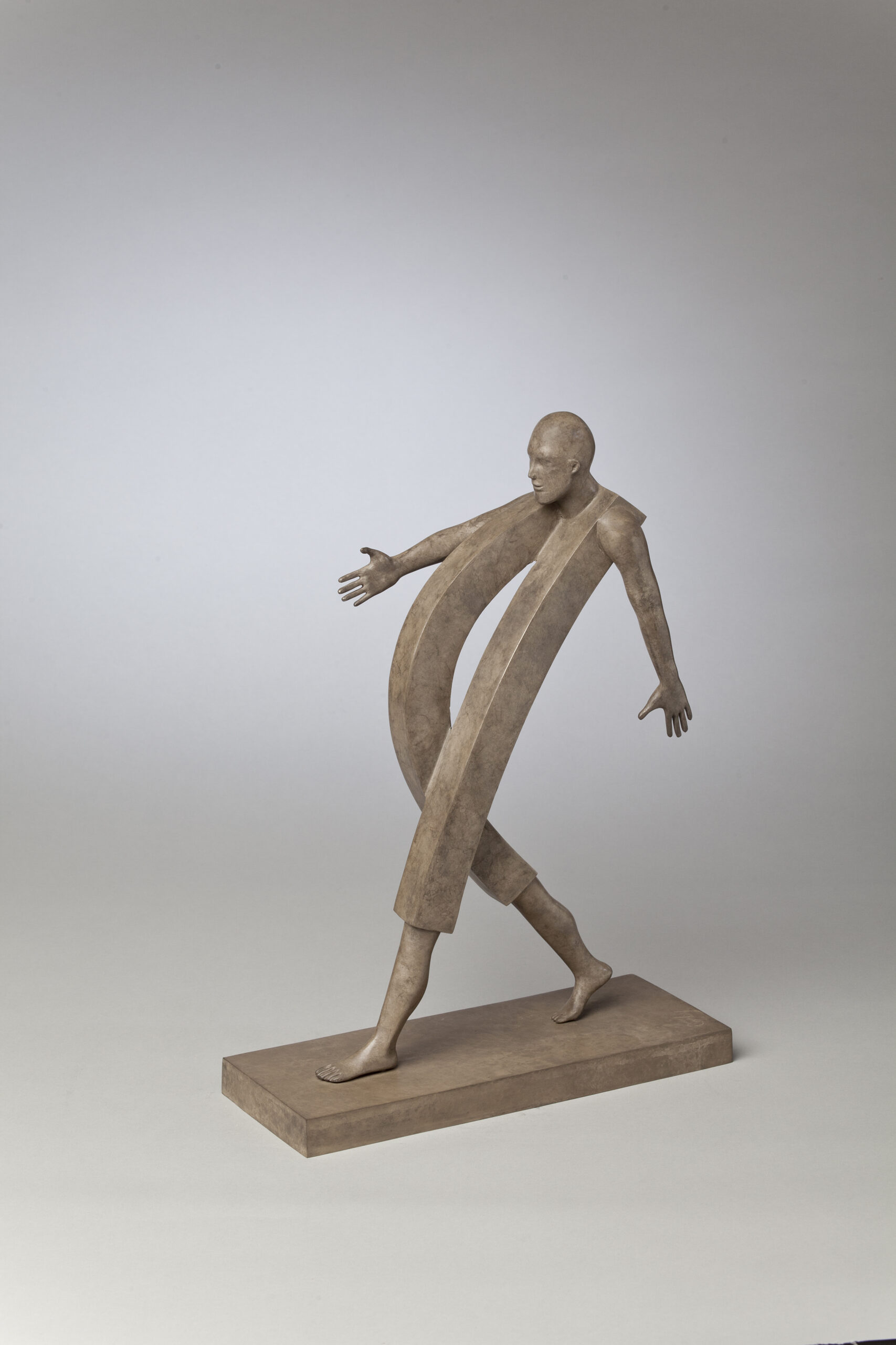 Corby - sculpture - Homme Volontaire - © Casart