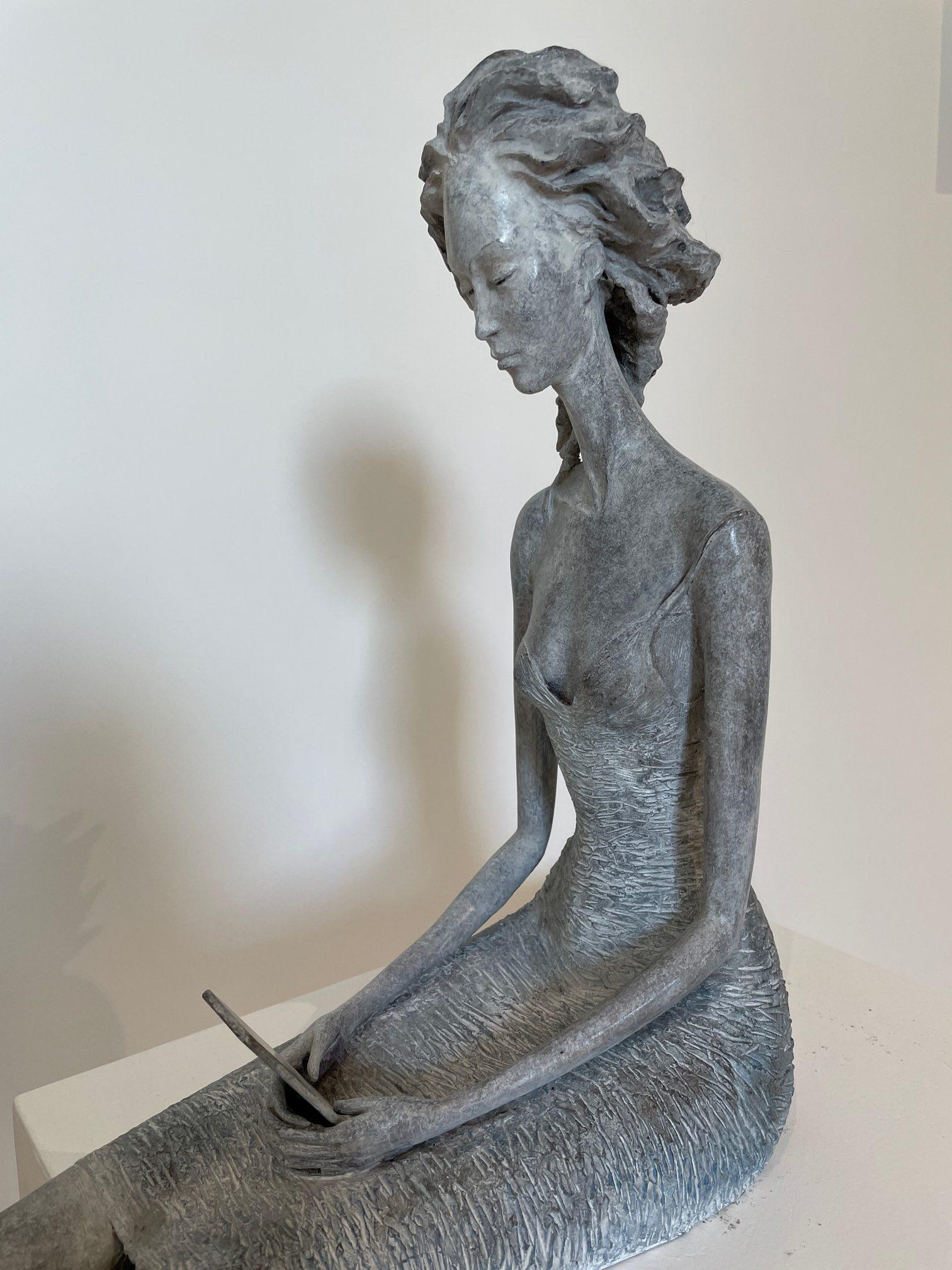 Hedwige Leroux - sculpture - Réponds-moi - © Casart