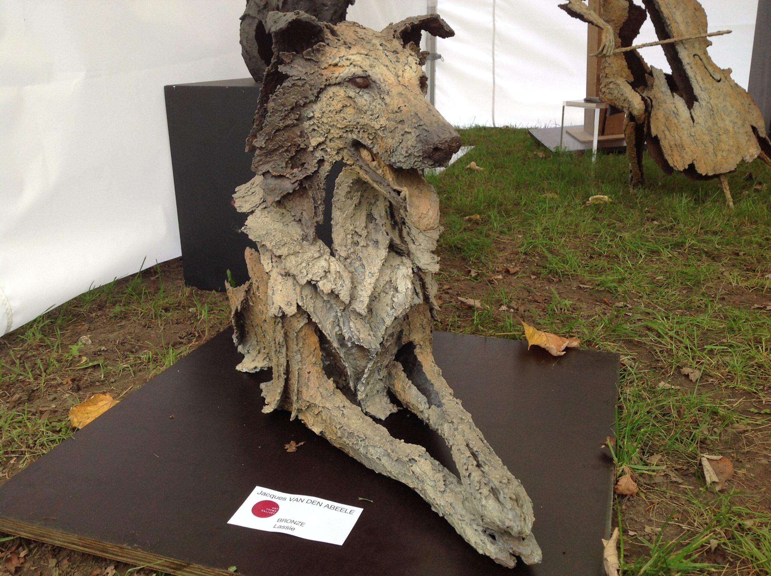 Jacques Van den Abeele - sculpture - Lassie - © Casart
