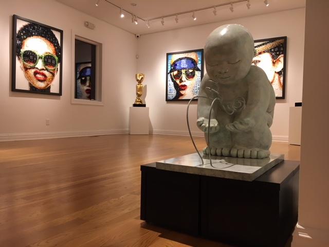Garibay - sculpture - Dialogue - Casart