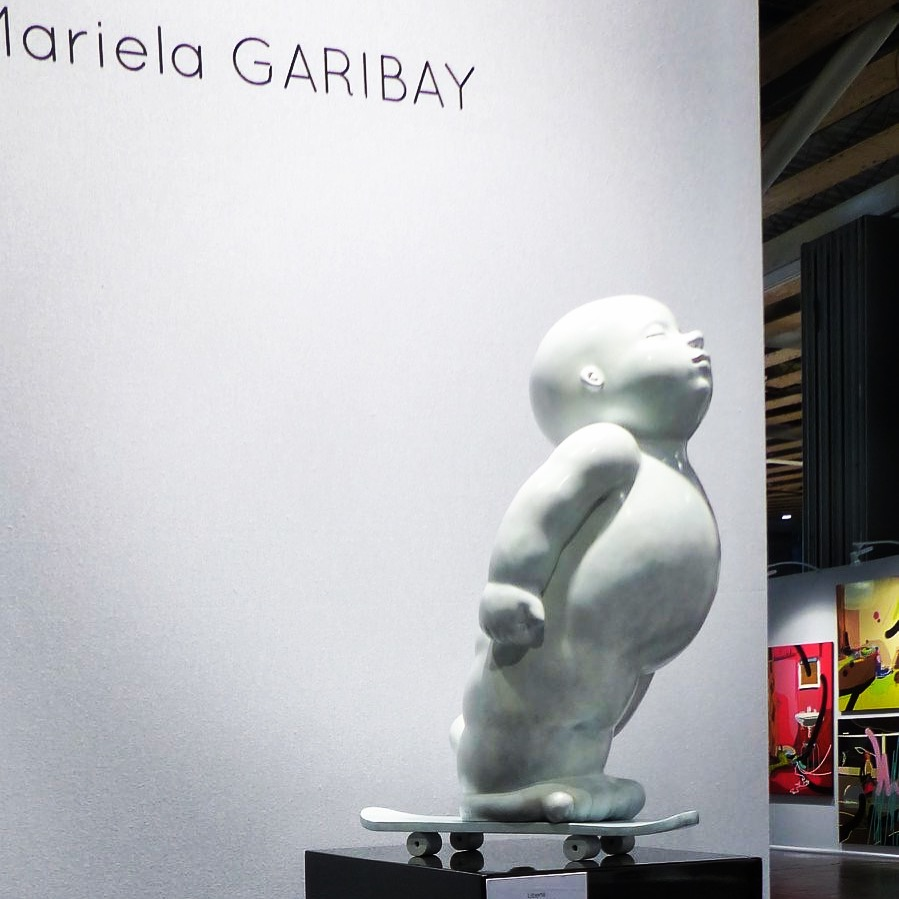 Garibay - sculpture - Liberté - © Casart
