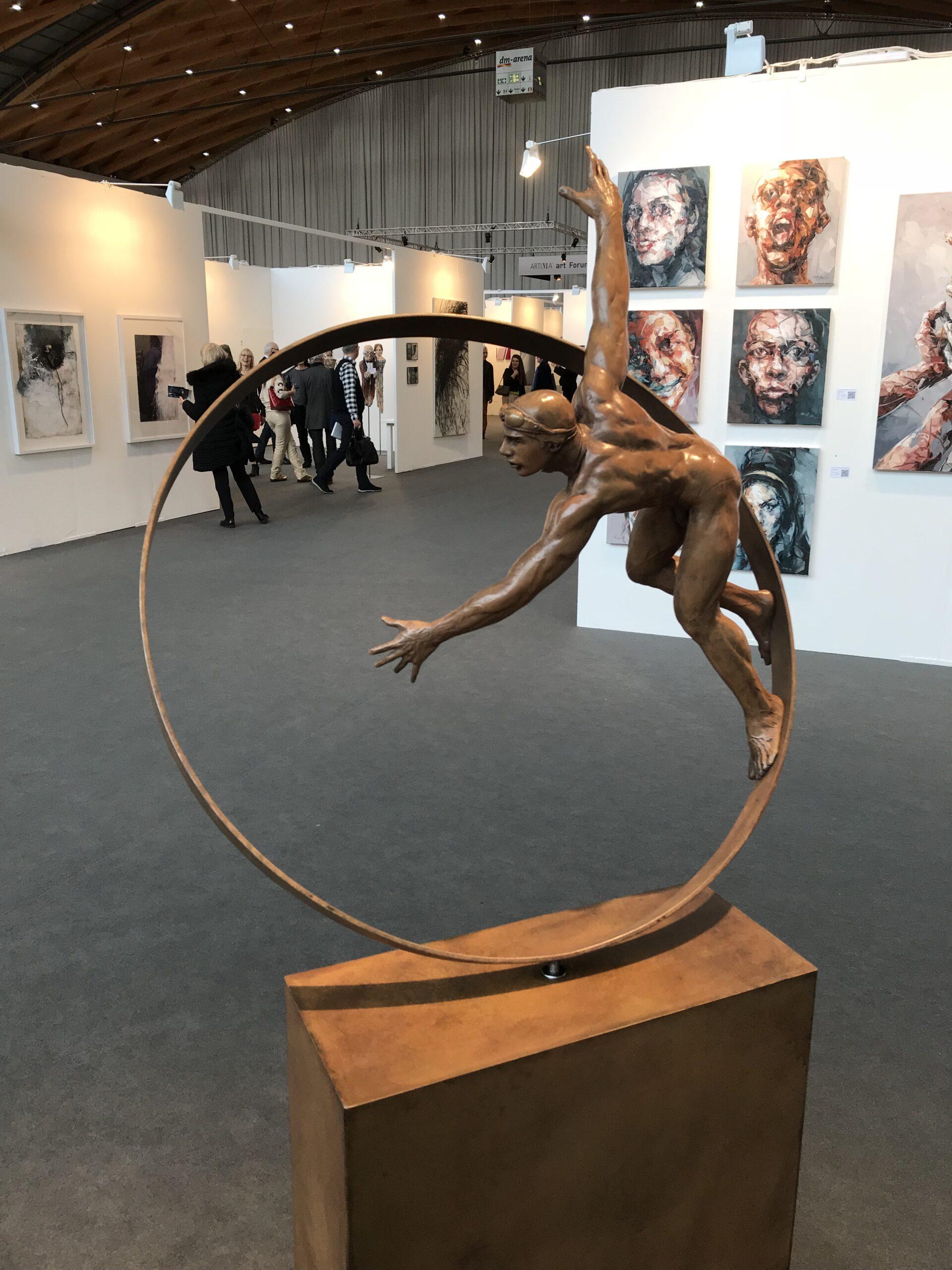 Jorge Marin - sculpture - surfista - © Casart