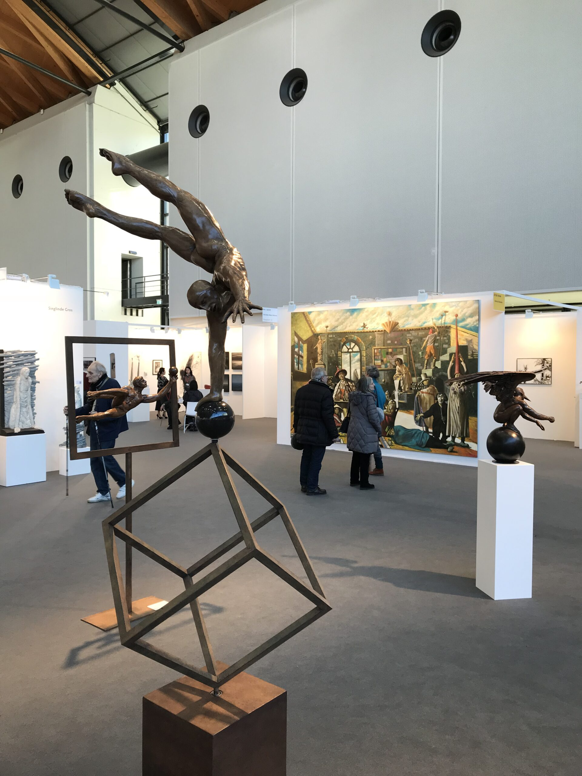 Jorge Marin - sculpture - M1 - © Casart