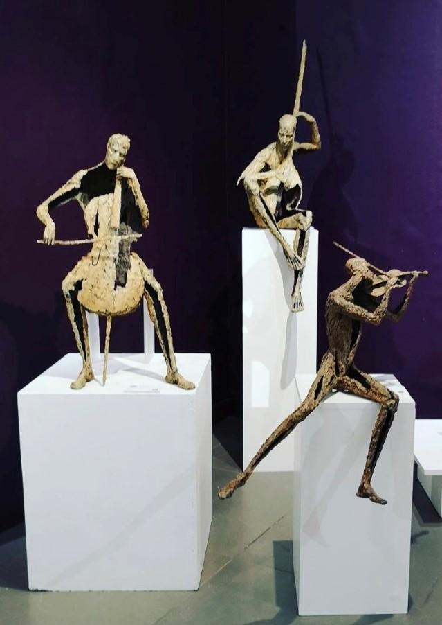 Jacques Van den Abeele - sculpture - © Casart