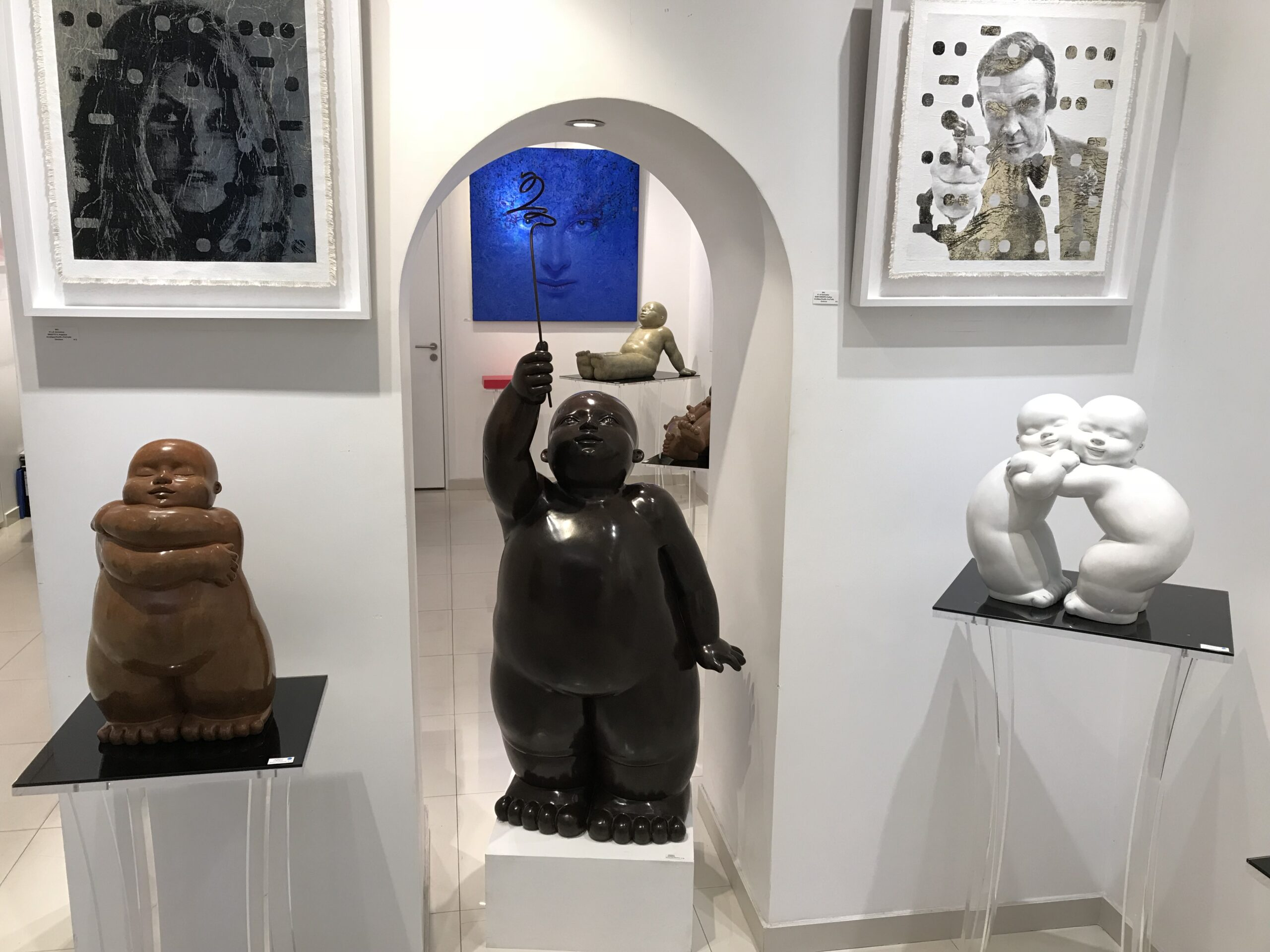 Garibay - sculpture - Offrande - © Casart
