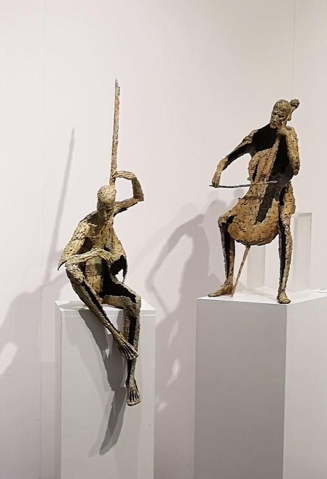 Jacques Van den Abeele - sculpture -- © Casart
