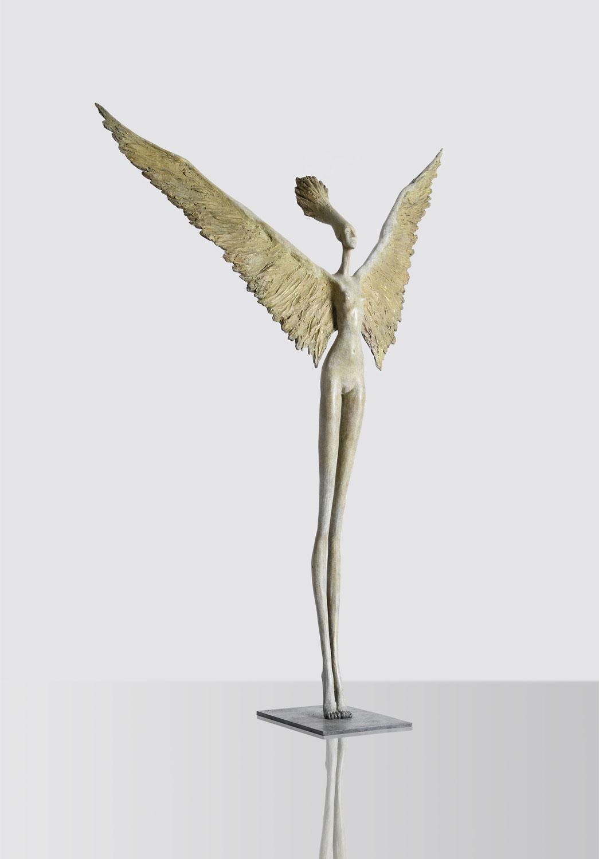 Hedwige Leroux - sculpture - Winged - © Casart