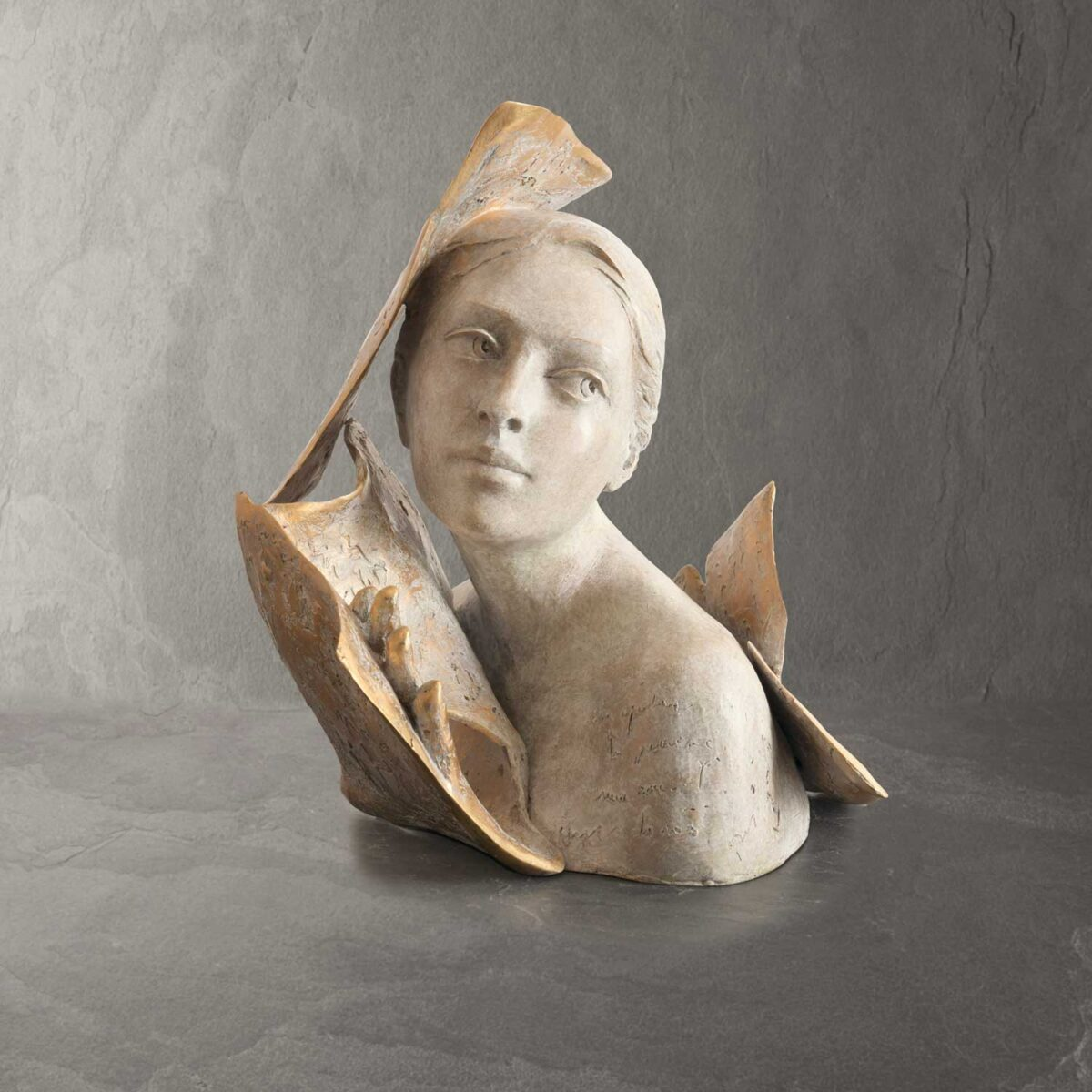 Ailleurs - Paola Grizi - sculpture bronze - © Casart