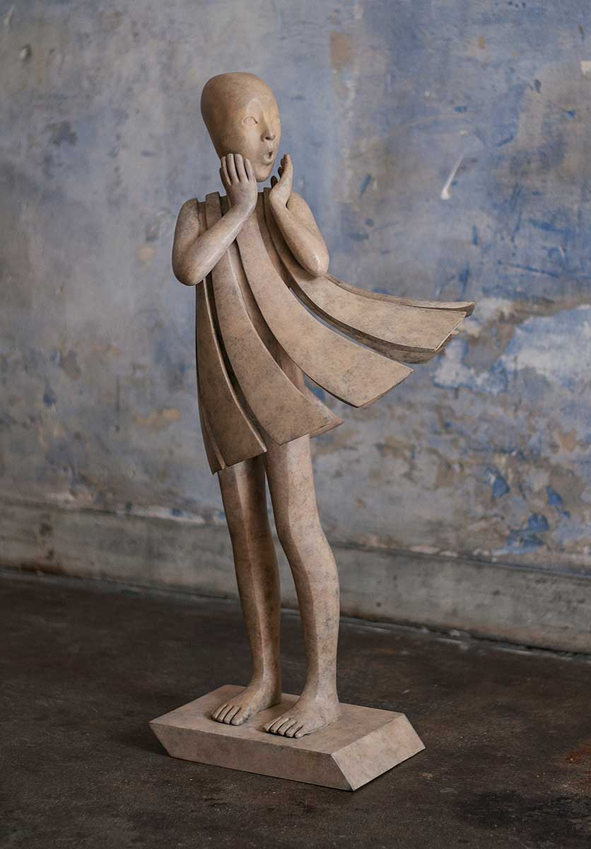 The Angel Passes - Miramontes - sculpture - © Casart