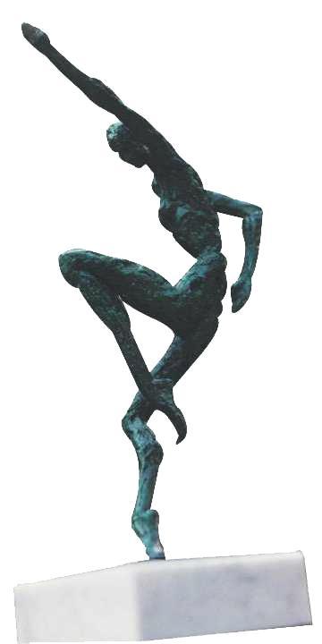 Van den Abeele - sculpture - ardent - © Casart