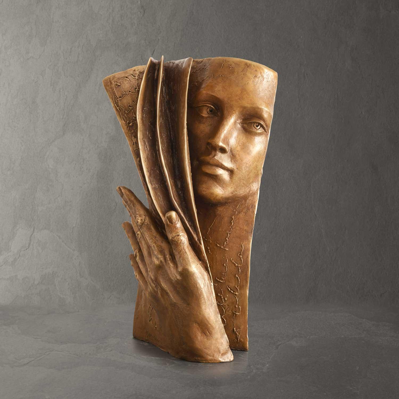 Background - Paola Grizi - sculpture bronze - © Casart