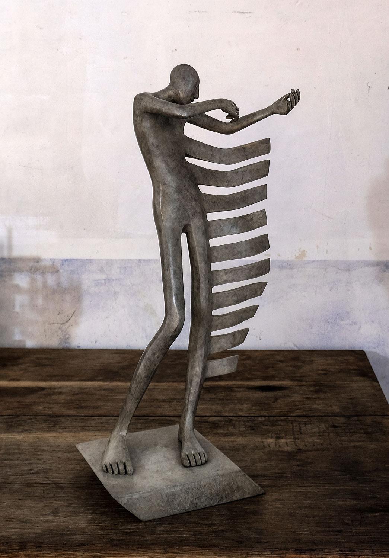 Rock my heart - Miramontes - sculpture - © Casart