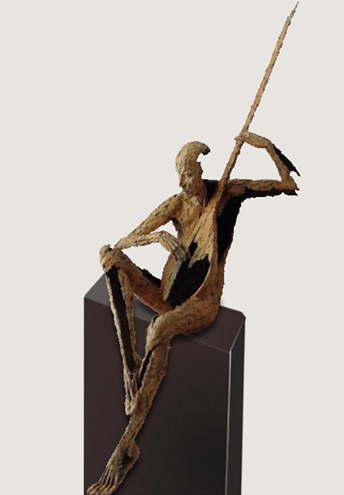 Van den Abeele - sculpture - Cithare - © Casart