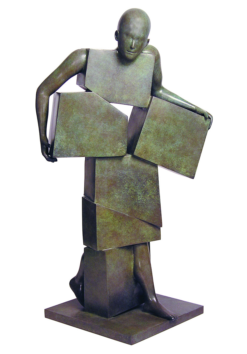 Corby - sculpture - Colissimo - © Casart