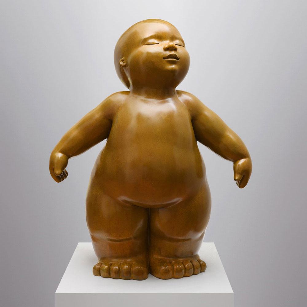 Delicacy - sculpture bronze - Mariela Garibay - © Casart