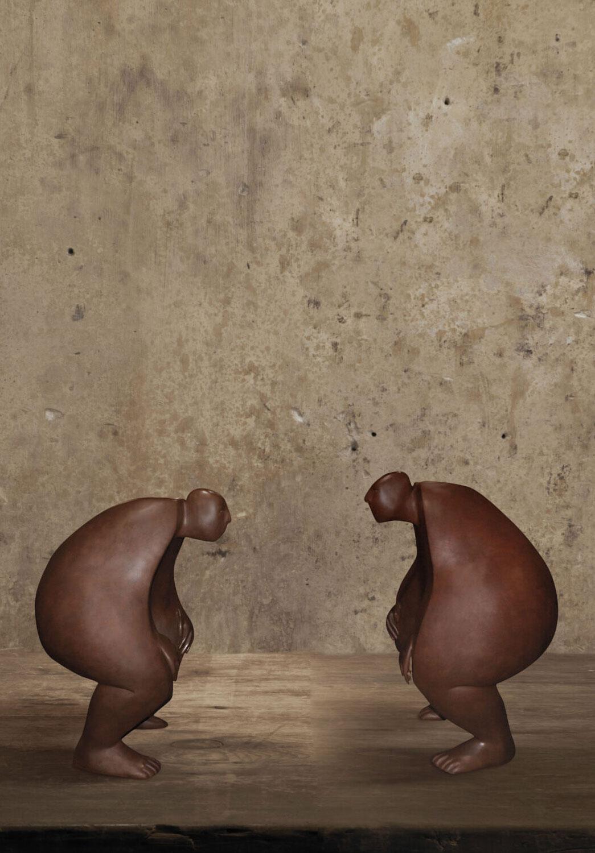 Dialogue of the Deaf - Miramontes - sculpture - © Casart