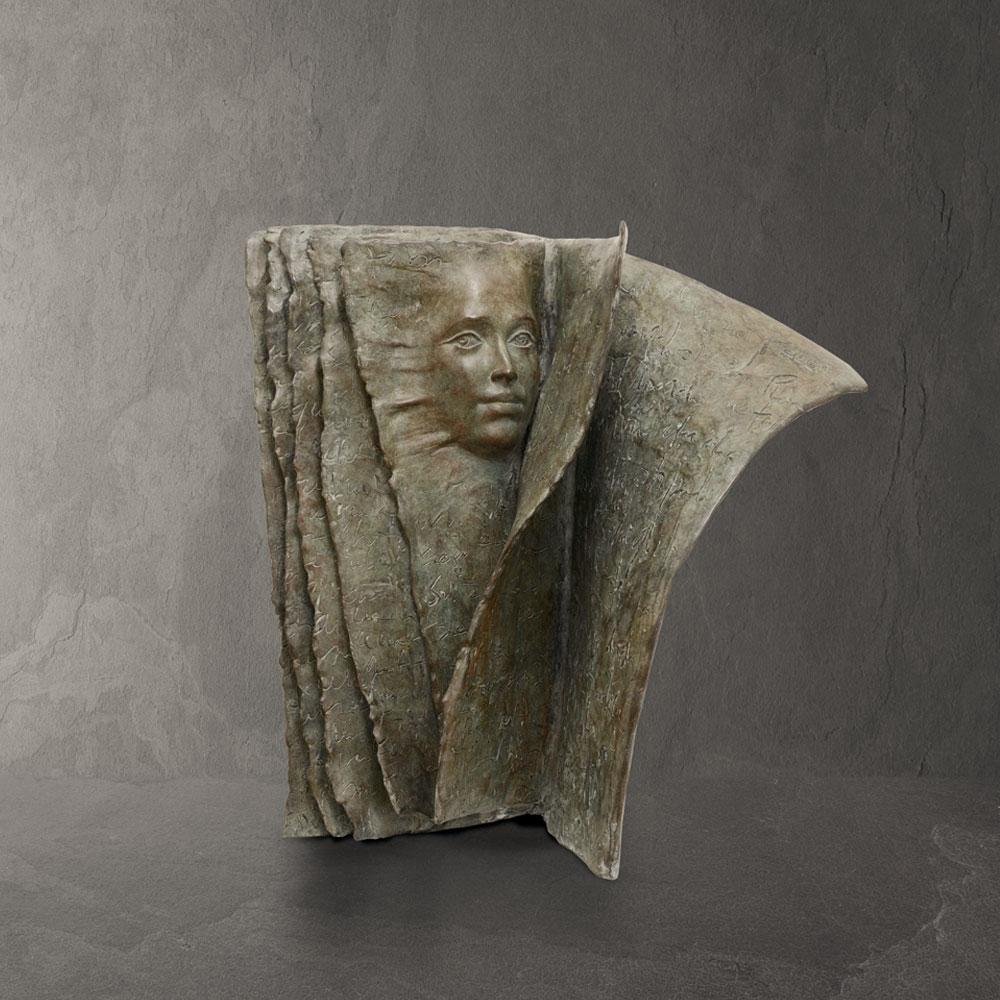 Face to Face - Paola Grizi - sculpture bronze - © Casart