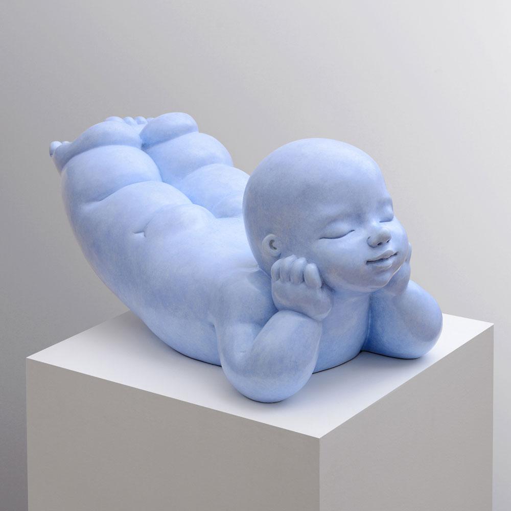 Fantasy - sculpture bronze - Mariela Garibay - © Casart