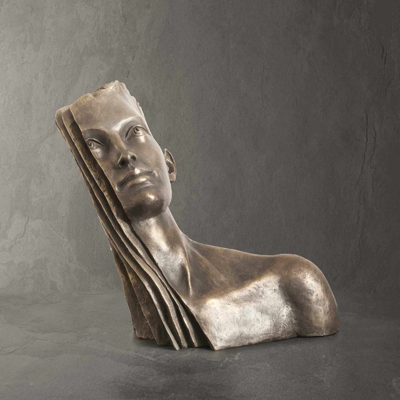 Layers - Paola Grizi - sculpture bronze - © Casart