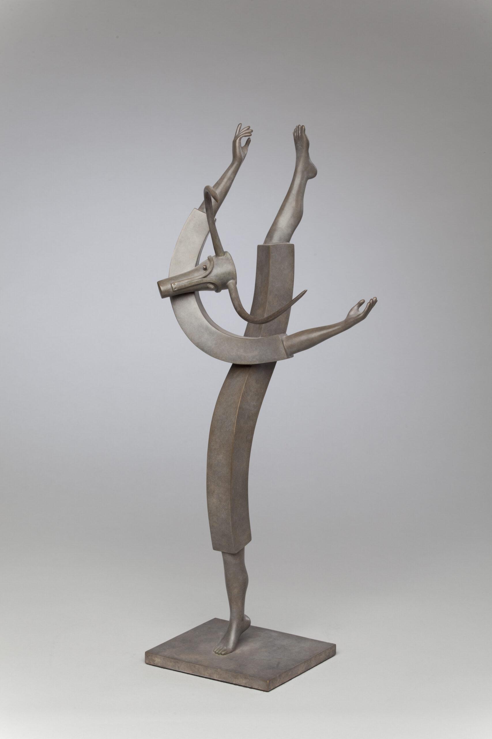 Corby - sculpture - Fou de Joie - © Casart