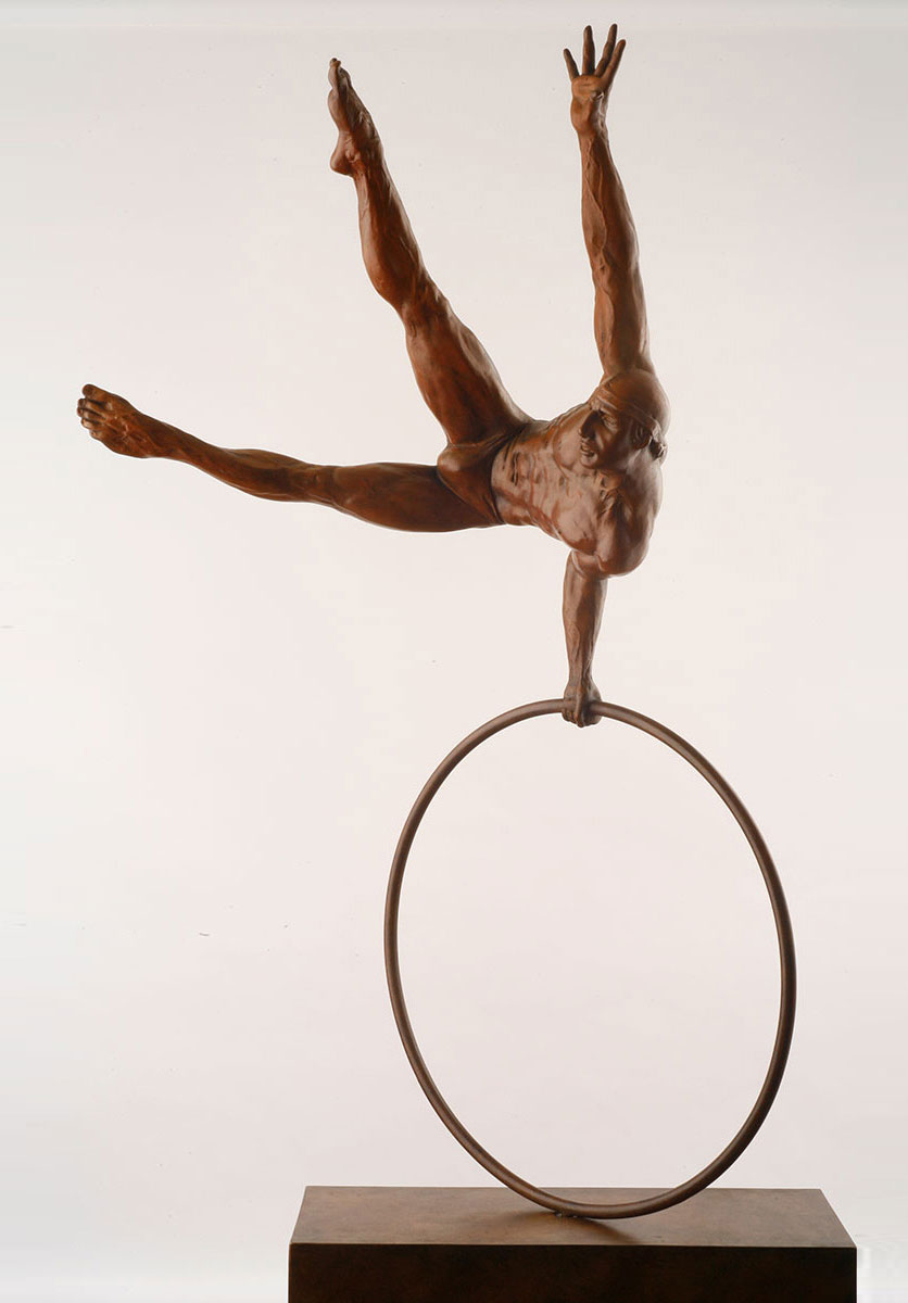 Jorge Marin - Gymnast on a circle - © Casart
