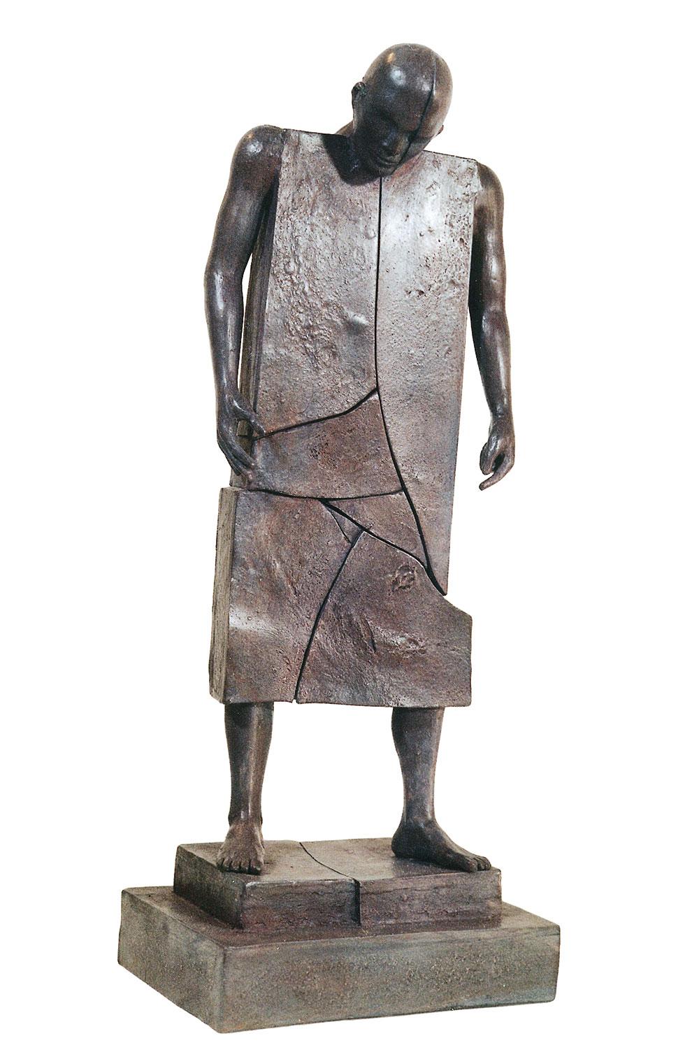 Corby - sculpture - Homme Fissuré - © Casart