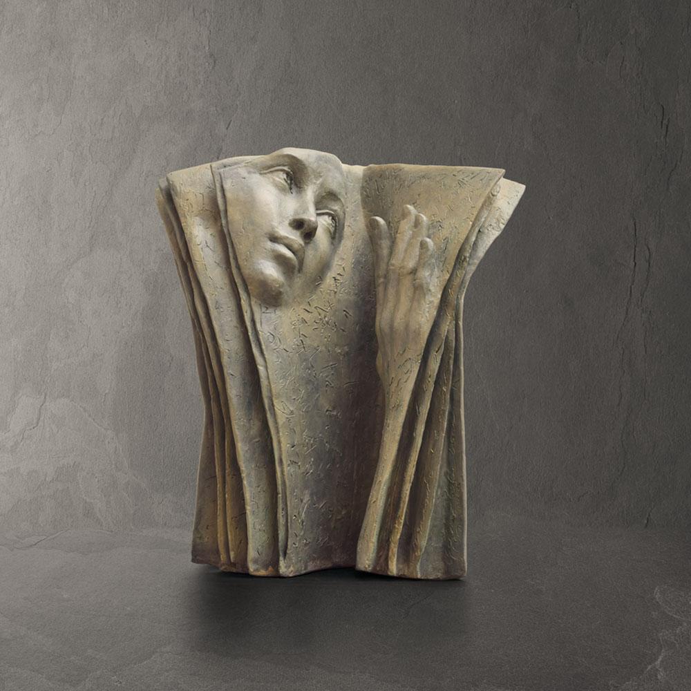 Multiple Lectures - Paola Grizi - sculpture bronze - © Casart