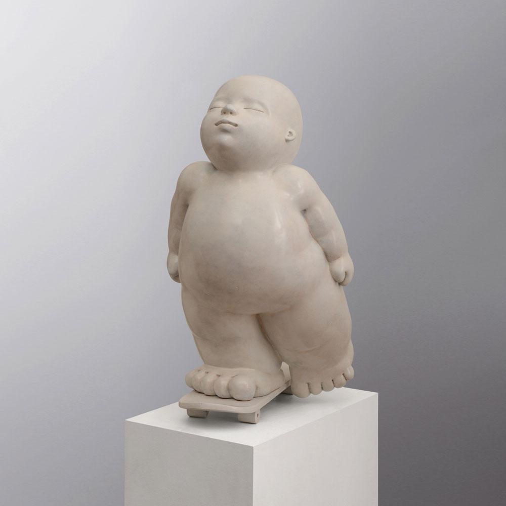 Liberty - sculpture bronze - Mariela Garibay - © Casart