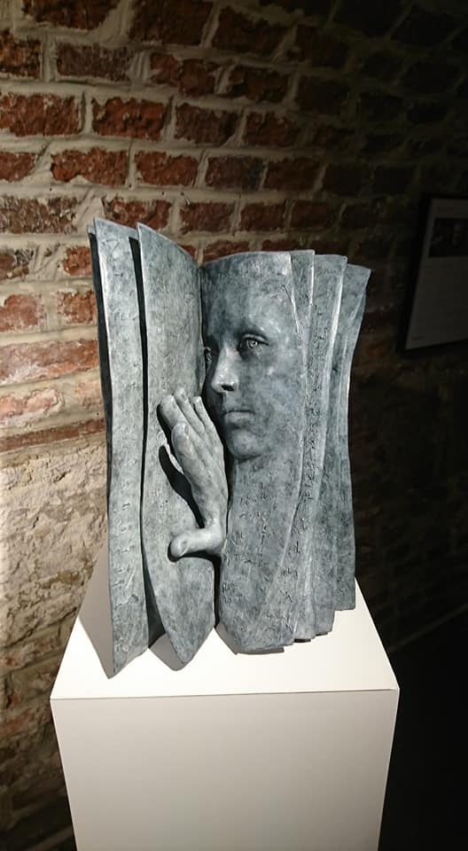 Paola Grizi - sculpture - Who is the reader ? - © Casart