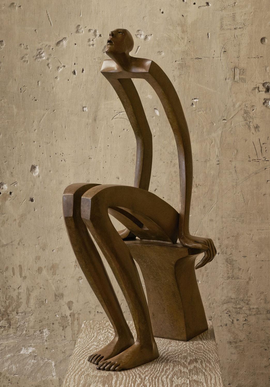 Star Reader - Miramontes - sculpture - © Casart