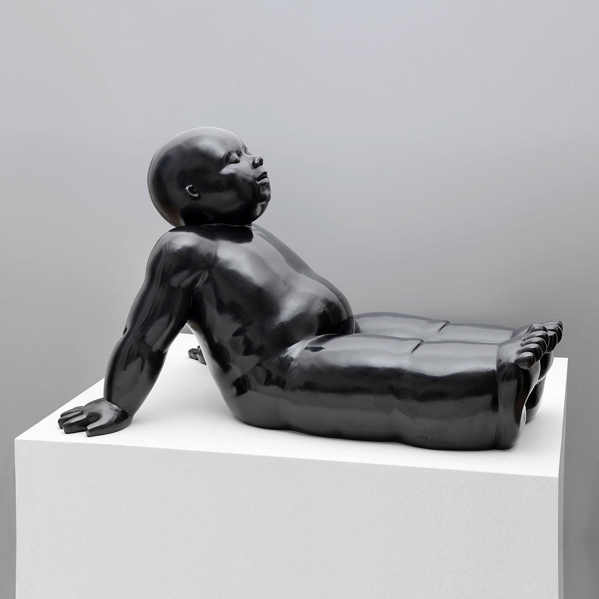 Rest - sculpture bronze - Mariela Garibay - © Casart