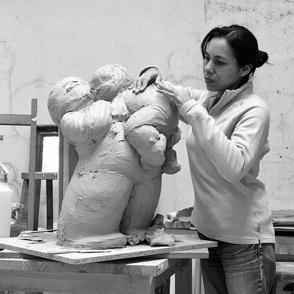 Mariela Garibay, contemporary sculptor, Casart