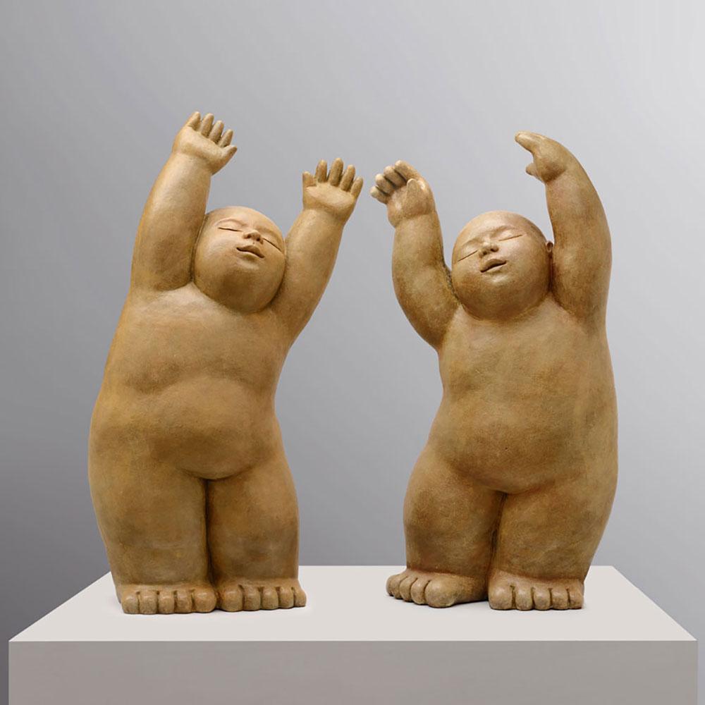 Music - sculpture bronze - Mariela Garibay - © Casart