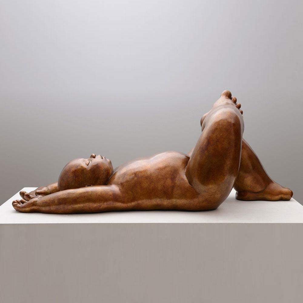 Landscape - sculpture bronze - Mariela Garibay - © Casart