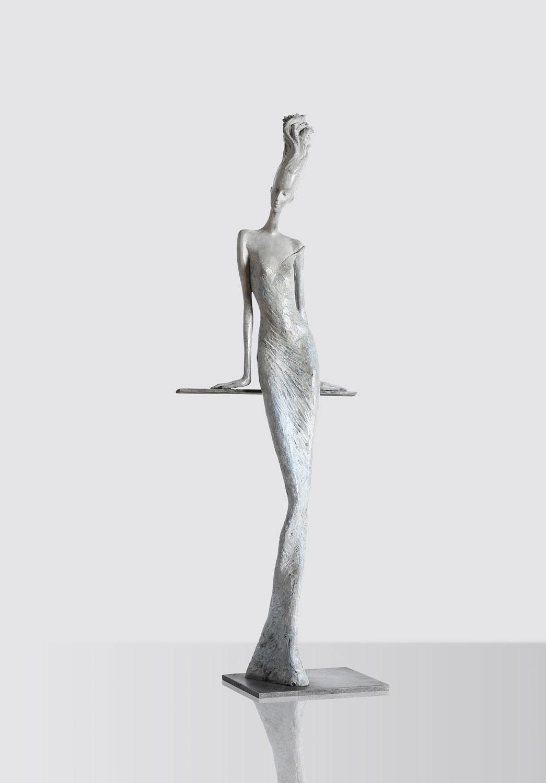 Hedwige Leroux - sculpture - Séduction - © Paris