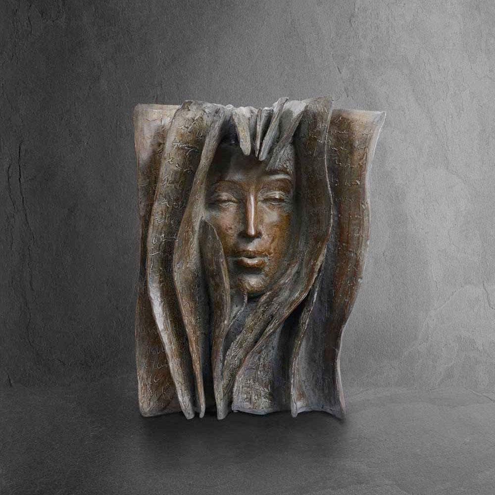 Breath - Paola Grizi - sculpture bronze - © Casart