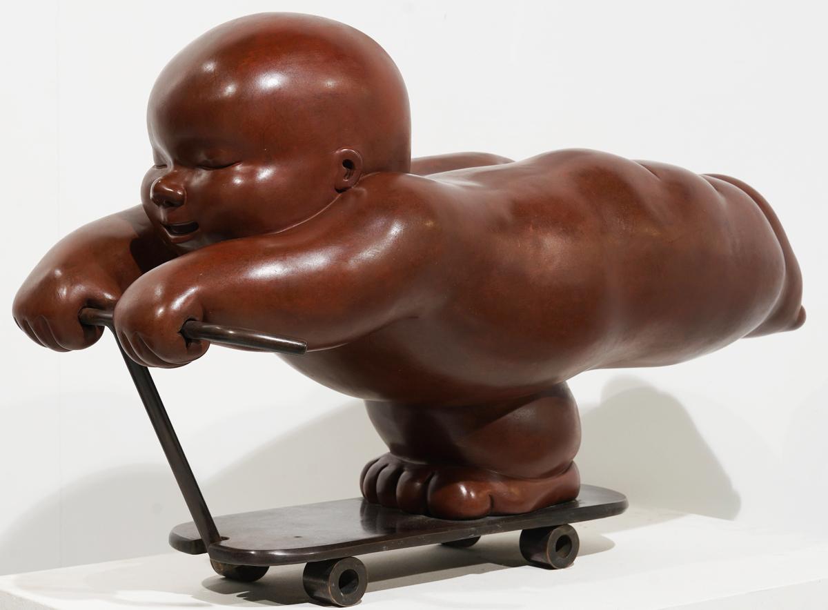Garibay - sculpture - Scooter - © Casart