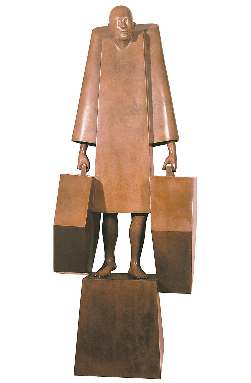 Corby - sculpture - Valises - © Casart