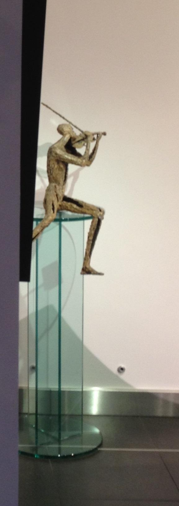 Van den Abeele - sculpture - violon - © Casart